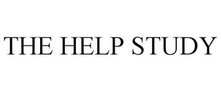 mark for THE HELP STUDY, trademark #86659527