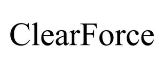 mark for CLEARFORCE, trademark #86667219