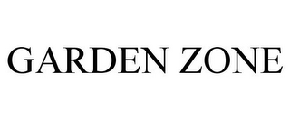 mark for GARDEN ZONE, trademark #86679550