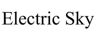 mark for ELECTRIC SKY, trademark #86684890