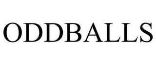 mark for ODDBALLS, trademark #86691305