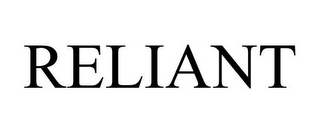 mark for RELIANT, trademark #86701625