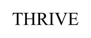 mark for THRIVE, trademark #86704420