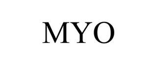 mark for MYO, trademark #86705666