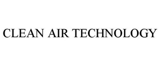 mark for CLEAN AIR TECHNOLOGY, trademark #86705752