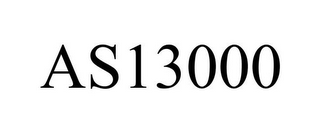 mark for AS13000, trademark #86708422