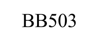 mark for BB503, trademark #86718224