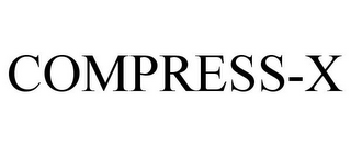 mark for COMPRESS-X, trademark #86722815
