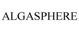 mark for ALGASPHERE, trademark #86731889