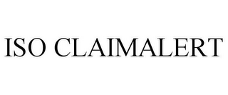 mark for ISO CLAIM ALERT, trademark #86737610