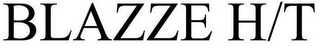 mark for BLAZZE H/T, trademark #86739213