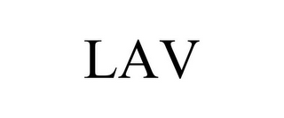 mark for LAV, trademark #86751815
