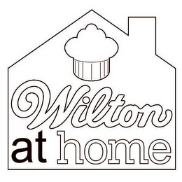 mark for WILTON AT HOME, trademark #86753947