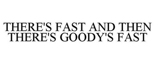 mark for THERE'S FAST AND THEN THERE'S GOODY'S FAST, trademark #86762954
