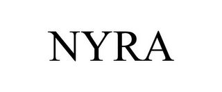 mark for NYRA, trademark #86771674