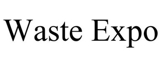 mark for WASTE EXPO, trademark #86771941