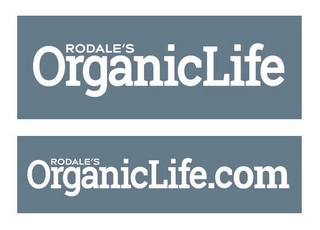 mark for RODALE'S ORGANICLIFE RODALE'S ORGANICLIFE.COM, trademark #86778440