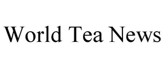 mark for WORLD TEA NEWS, trademark #86779877
