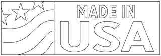 mark for MADE IN USA, trademark #86786566