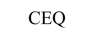 mark for CEQ, trademark #86788063