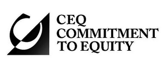 mark for C CEQ COMMITMENT TO EQUITY, trademark #86788092