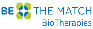mark for BE THE MATCH BIOTHERAPIES, trademark #86794796