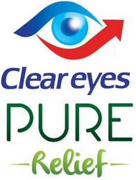 mark for CLEAR EYES PURE RELIEF, trademark #86801263