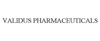 mark for VALIDUS PHARMACEUTICALS, trademark #86814695