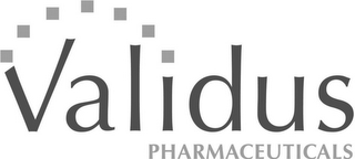 mark for VALIDUS PHARMACEUTICALS, trademark #86814846