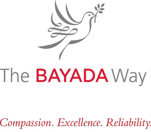 mark for THE BAYADA WAY COMPASSION.EXCELLENCE.RELIABILITY., trademark #86821096