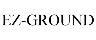 mark for EZ-GROUND, trademark #86844115