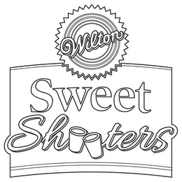 mark for WILTON SWEET SHOOTERS & DESIGN, trademark #86844317