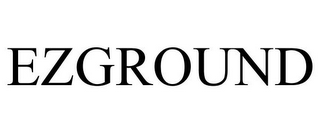 mark for EZGROUND, trademark #86846757