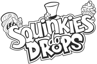 mark for SQUINKIES 'DO DROPS, trademark #86871635