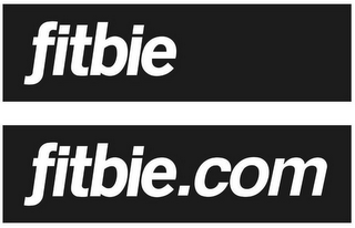 mark for FITBIE FITBIE.COM, trademark #86890107