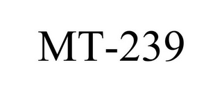 mark for MT-239, trademark #86908658