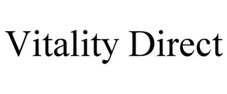 mark for VITALITY DIRECT, trademark #86920069