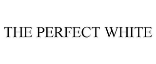 mark for THE PERFECT WHITE, trademark #86920919