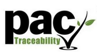 mark for PAC TRACEABILITY, trademark #86924719