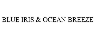mark for BLUE IRIS & OCEAN BREEZE, trademark #86926209