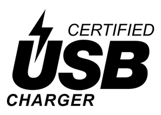 mark for CERTIFIED USB CHARGER, trademark #86928639