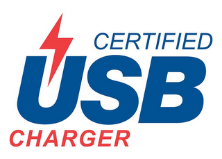 mark for CERTIFIED USB CHARGER, trademark #86928641