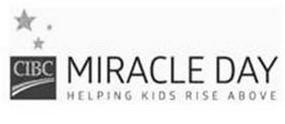 mark for CIBC MIRACLE DAY HELPING KIDS RISE ABOVE, trademark #86945578
