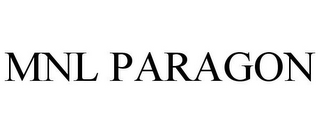 mark for MNL PARAGON, trademark #86950852