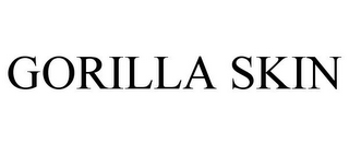 mark for GORILLA SKIN, trademark #86953907