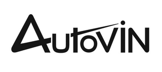 mark for AUTOVIN, trademark #86954812