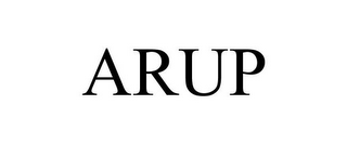 mark for ARUP, trademark #86955613