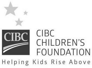 mark for CIBC CIBC CHILDREN'S FOUNDATION HELPING KIDS RISE ABOVE, trademark #86956710