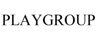 mark for PLAYGROUP, trademark #86970919