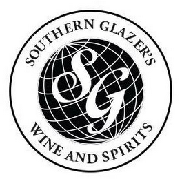 mark for SG SOUTHERN GLAZER'S WINE AND SPIRITS, trademark #87003129
